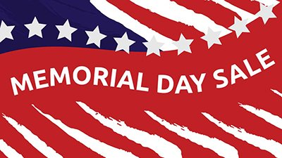 Memorial Day Sale (and Free Gifts!) at AnswersBookstore.com