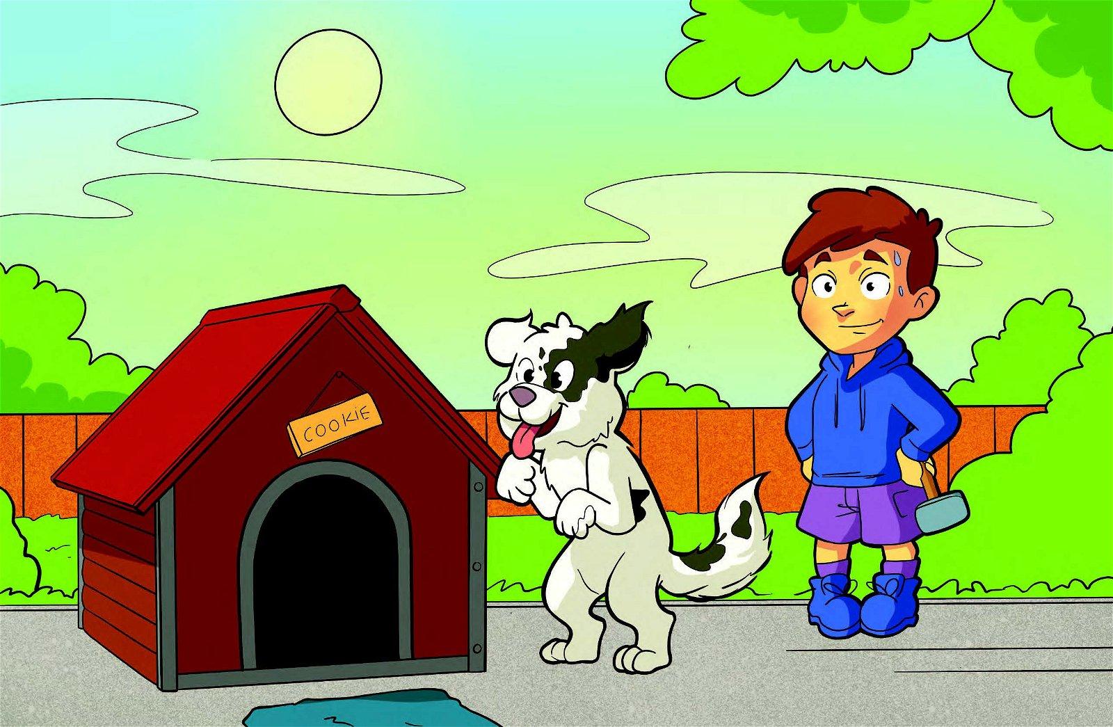 Cookie's Doghouse Dilemma