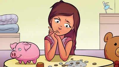 Plain Rice & Piggy Banks