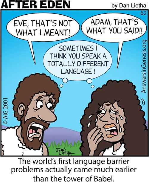 First Language Barrier