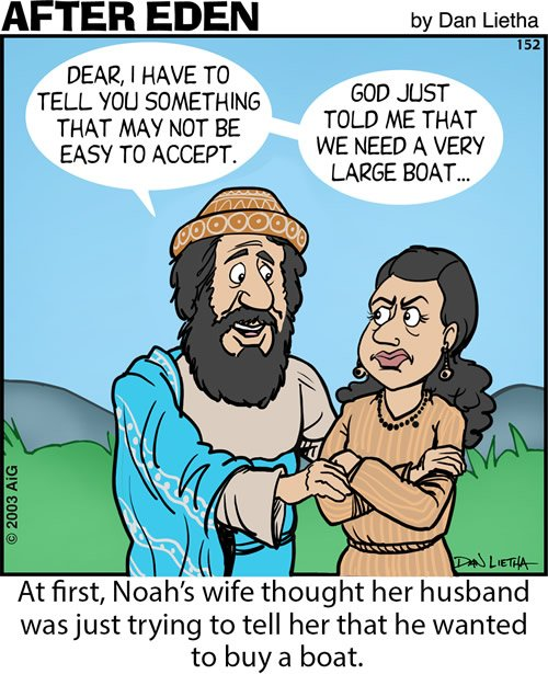 Noah Wants a Boat?