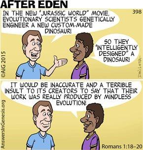 Jurassic Worldview