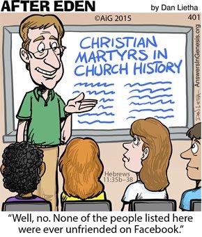 Unfriended for Christ