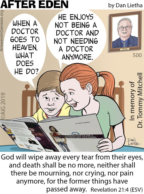 When a Doctor Goes to Heaven . . .