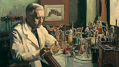 Alexander Fleming & God's Signature in Microbiology