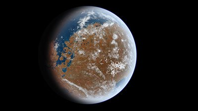Mars—The Other Blue Planet?