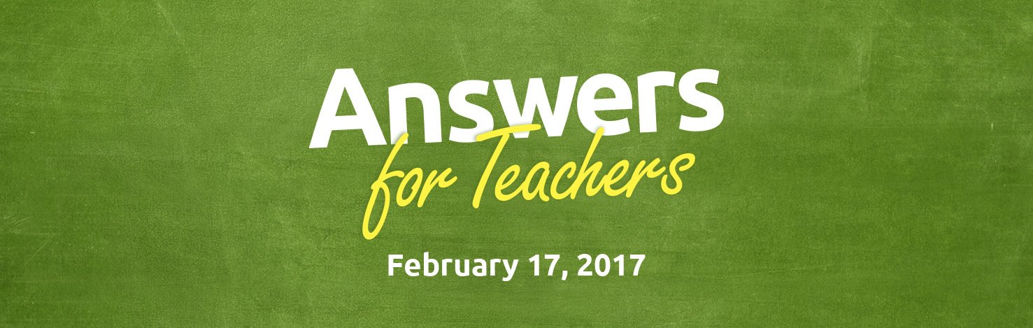 Join Us at the Creation Museum for Answers For Teachers