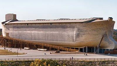 '노아의 방주' 박물관에 찾아온 한국 기독교 방송