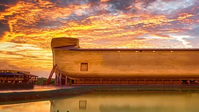 Come Visit Ark Encounter at Night
