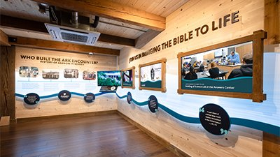 New Exhibit Dedicated at the Ark Encounter
