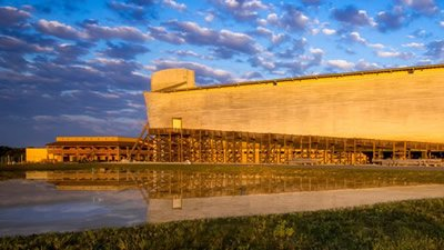 Calvary University President and Family Visit the Ark and Museum