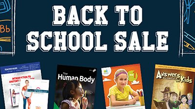 Back-to-School Sale on Now at AnswersBookstore.com