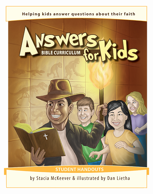 Answers for Kids Student Handout Set
