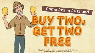 "Come ""2 Buy 2"" to the Creation Museum"