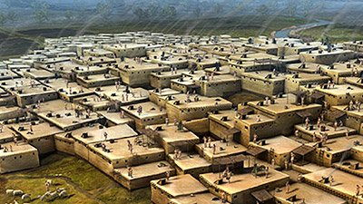 Çatalhöyük—The First City After Babel?