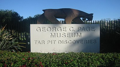 Page Museum at La Brea Tar Pits