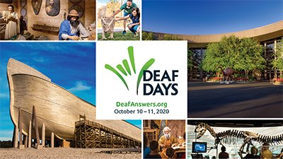 Deaf Days Coming This Fall at the Ark Encounter