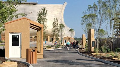 """Steles"" Installed at the Ark Encounter"