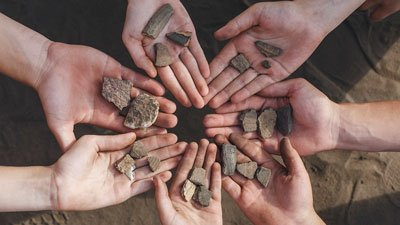 Be a Paleontologist for a Day at Caesar Creek Lake, Ohio, October 2, 2021