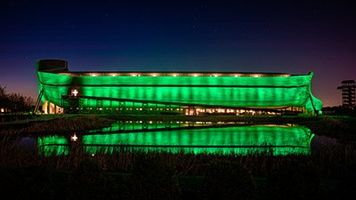 The Ark Has Gone Green . . . but Why?