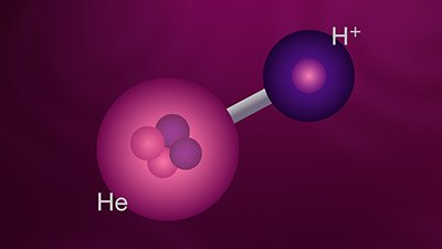 Helium Hydride: The First Molecule?