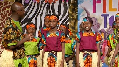 Esangalo Choir from Uganda Visits the Creation Museum