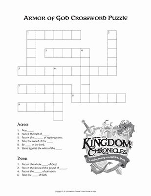 Armor Crossword