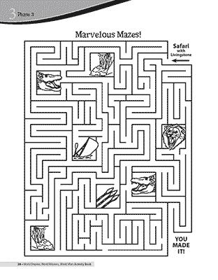 Safari Maze