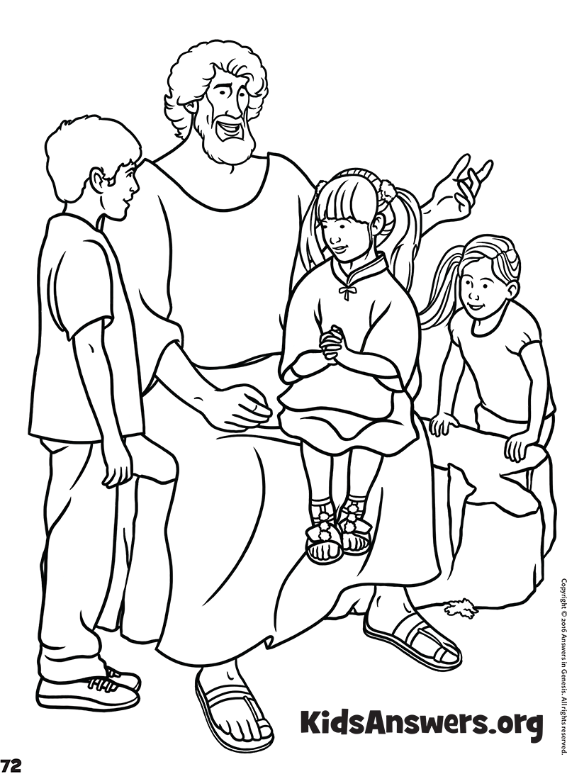 jesus loves the little children - Coloring Pictures Of Children
