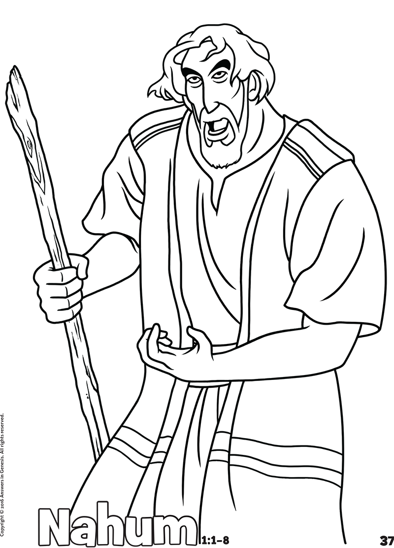 isaiah and micah coloring pages | Coloring | Kids Answers