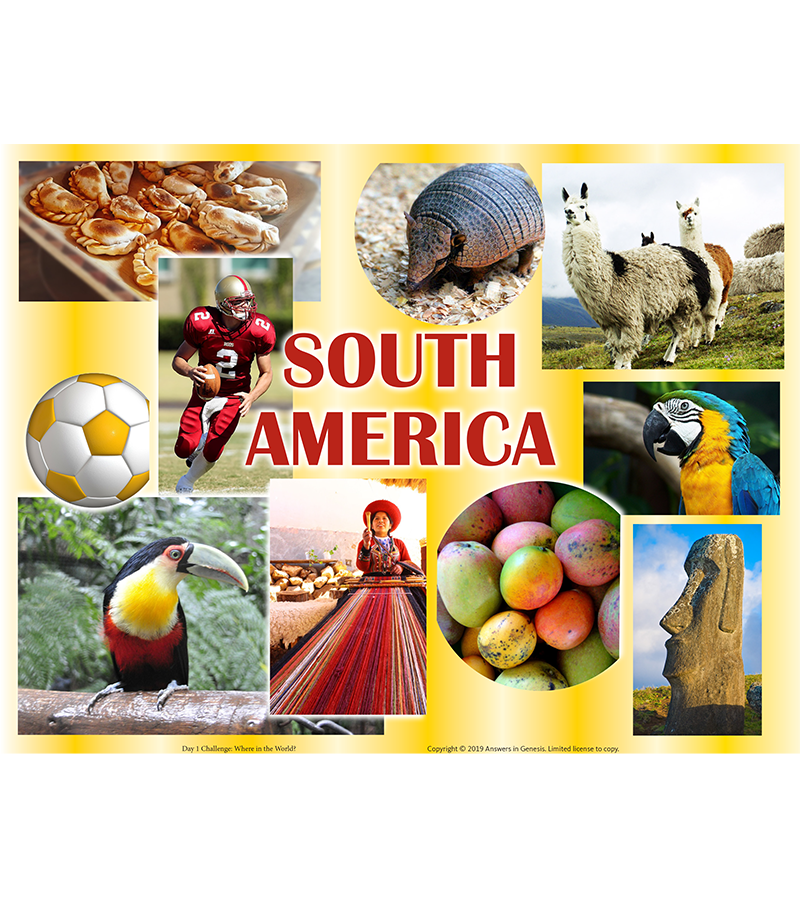 Day One Challenge: South America