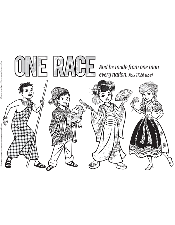 Acts 17:26 One Race