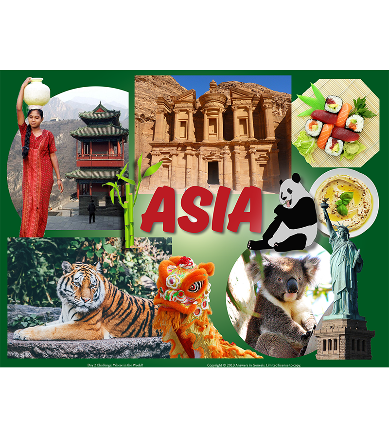 Day Two Challenge: Asia