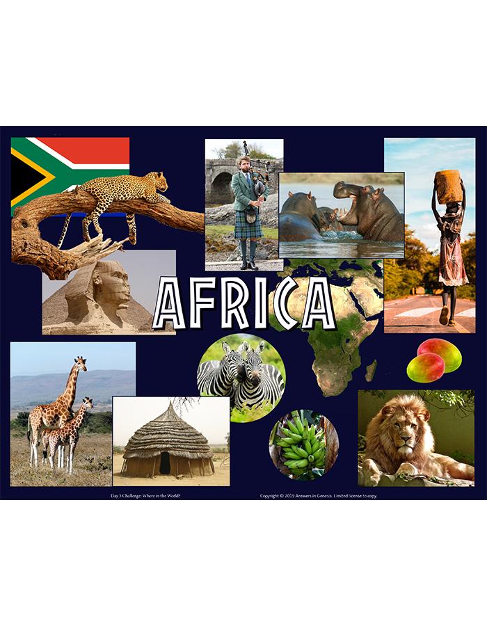Day Three Challenge: Africa