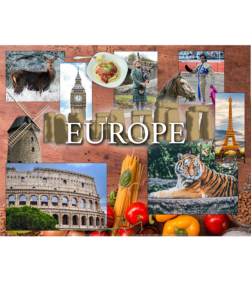 Day Four Challenge: Europe