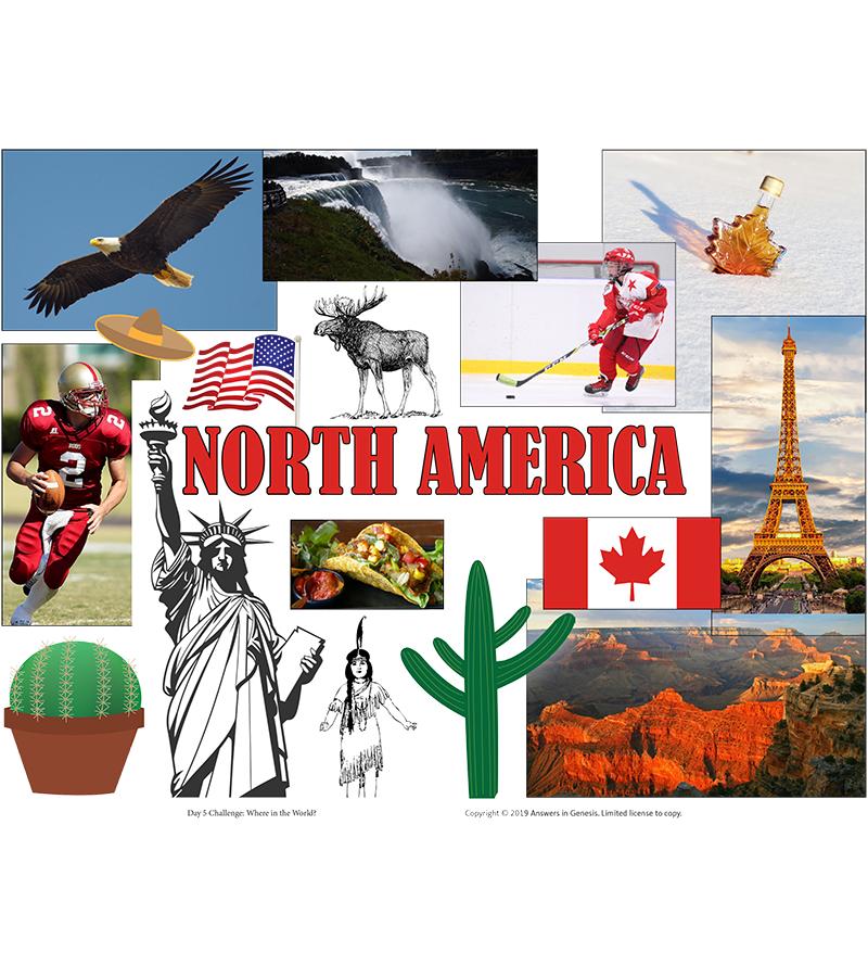 Day Five Challenge: North America
