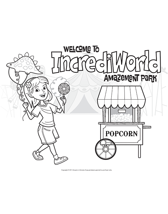 Welcome to IncrediWorld