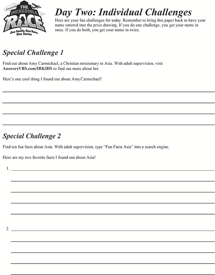 Day Two Individual Challenge