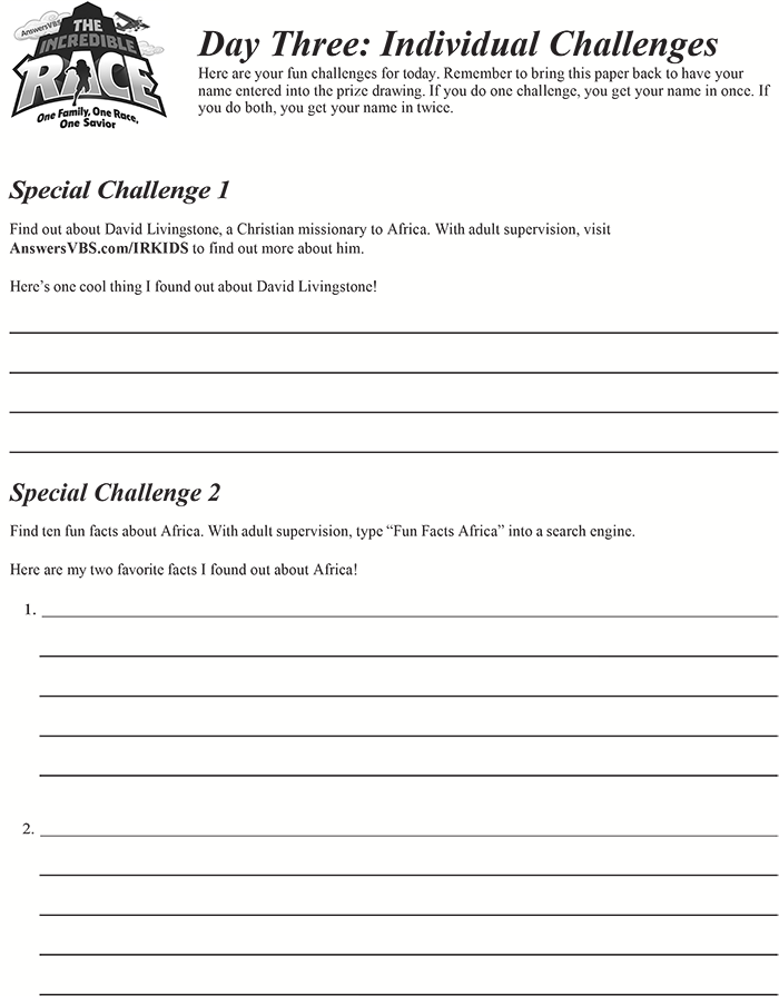 Day Three Individual Challenge
