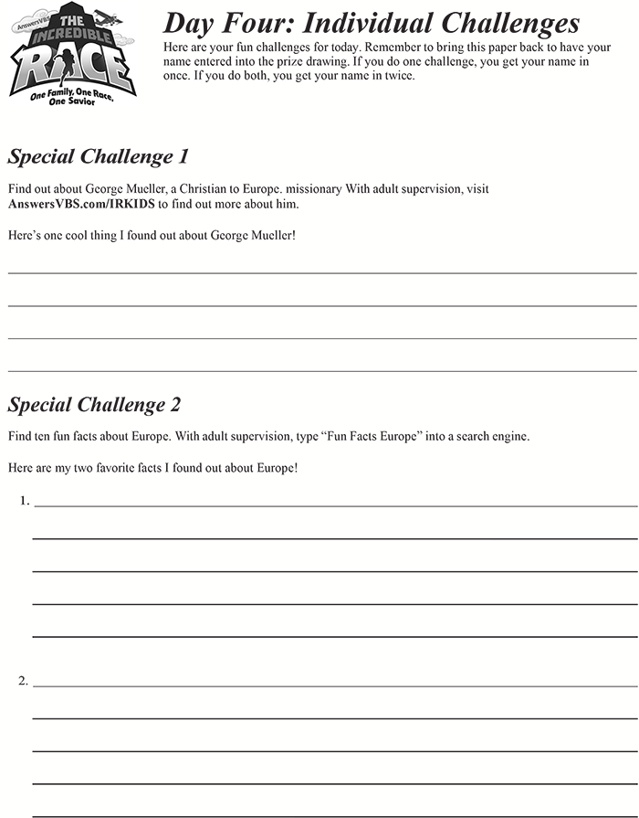 Day Four Individual Challenge