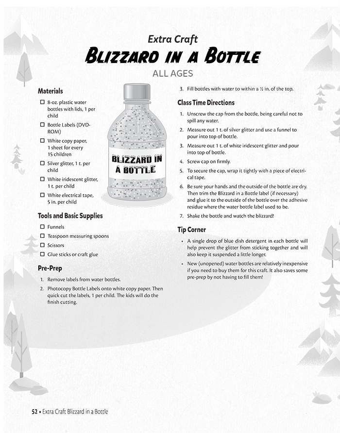 Blizzard in a Bottle