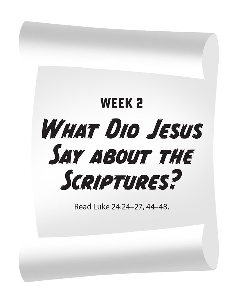What Did Jesus Say About the Scriptures?