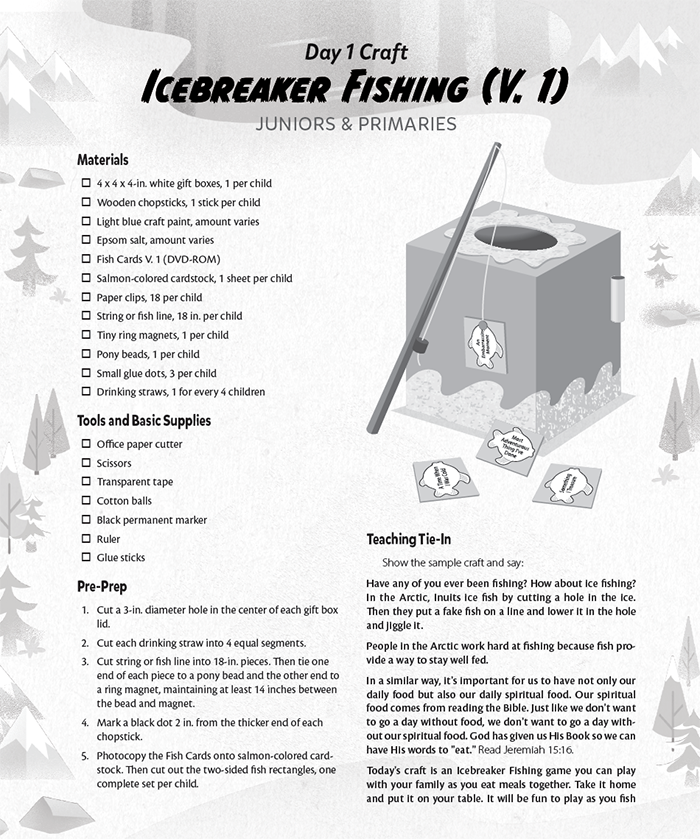 Icebreaker Fishing (Junior)