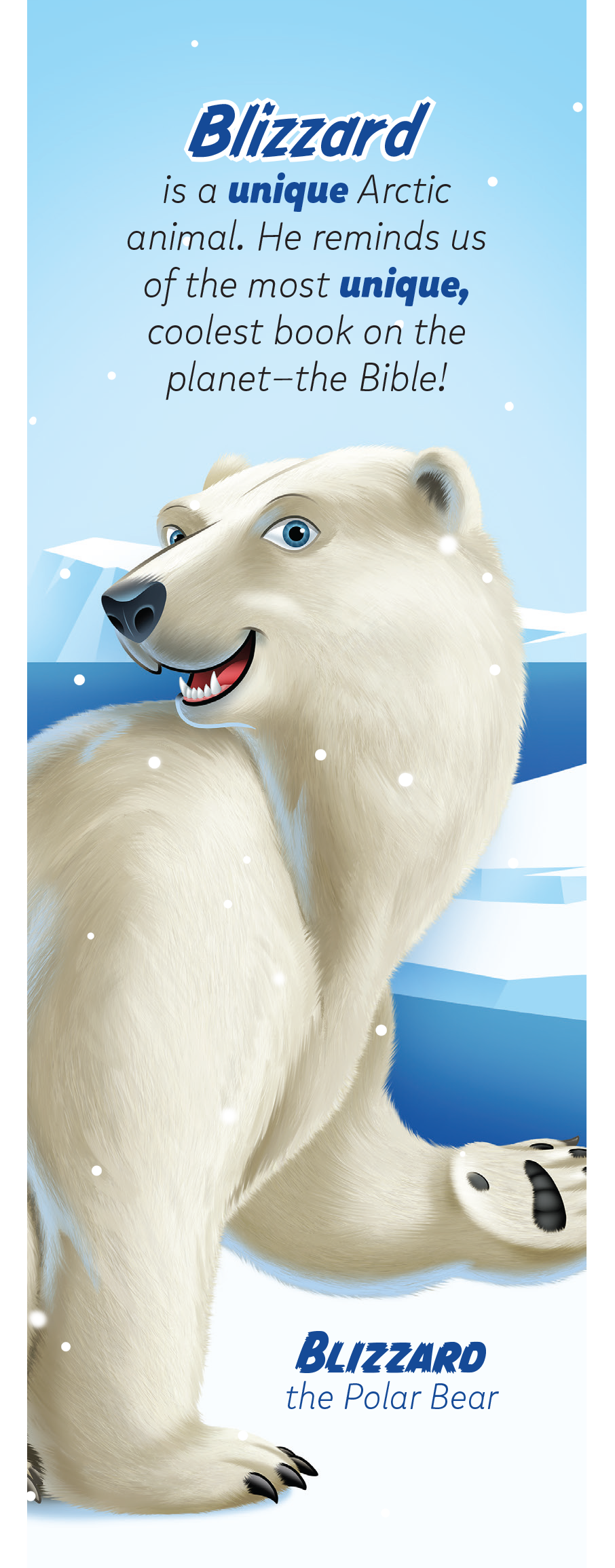 Arctic Animal Pals Bookmarks