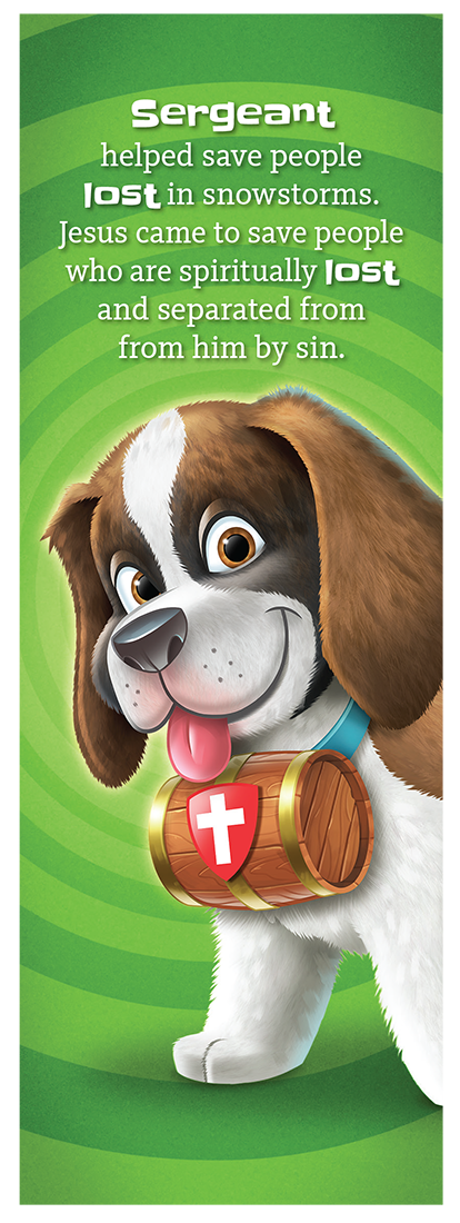 Sergeant the St. Bernard Bookmark