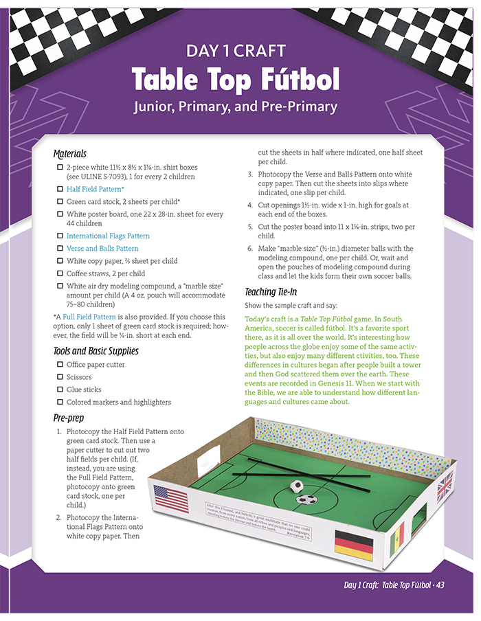 Table Top Fútbol
