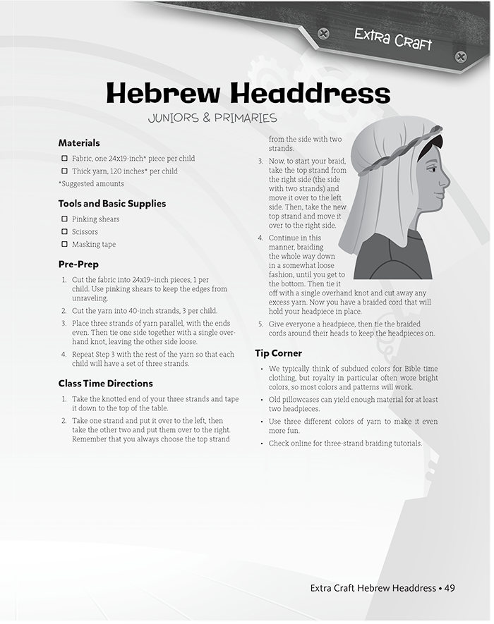Hebrew Headdress
