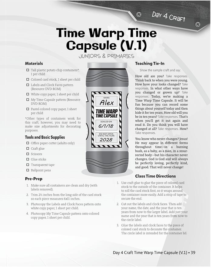 Time Warp Time Capsule