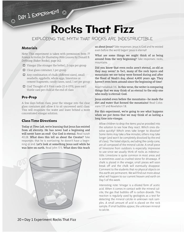 Rocks That Fizz