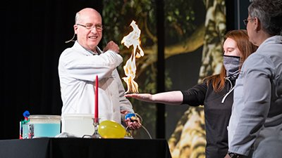 Join Us for Special Interactive Science Demonstrations Through July 18